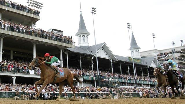 El Derby de Kentucky, impactante y una de las pruebas célebres del turf norteamericano