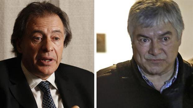 Los empresarios Cristóbal López y Lázaro Báez