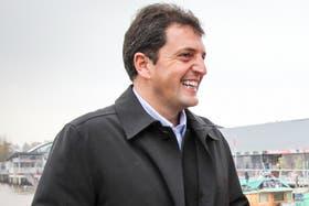 El intendente de Tigre y actual candidato Sergio Massa