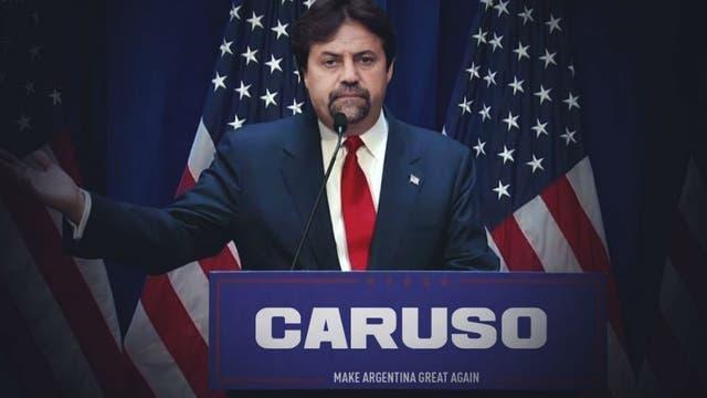 Caruso, como Trump