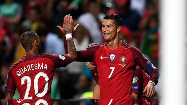 Cristiano superó a Pelé en goles internacionales