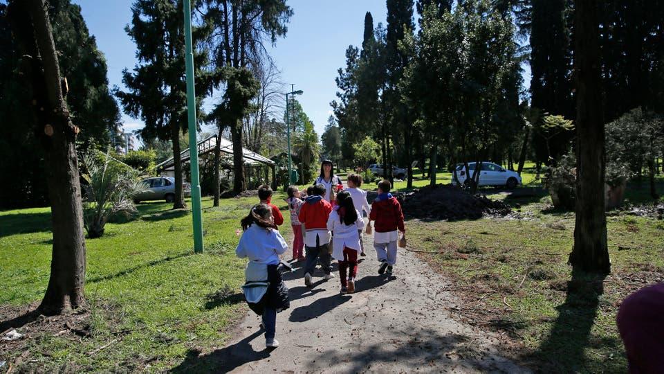 Los colegios pueden hacer excursiones y recorrer el lugar. Foto: LA NACION / Silvana Colombo