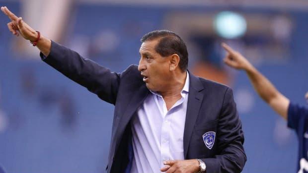 El entrenador ex River logró su primer título en Arabia Saudita