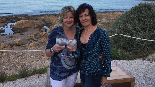 Nicola y Miriam en la actualidad