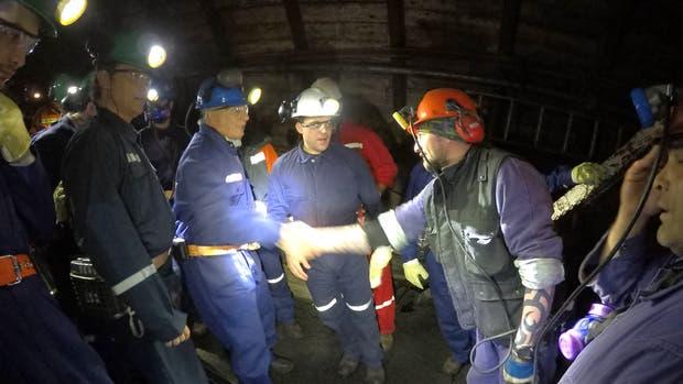 Aranguren garantizó la continuidad del yacimiento de carbón y con rentabilidad y sin corrupción