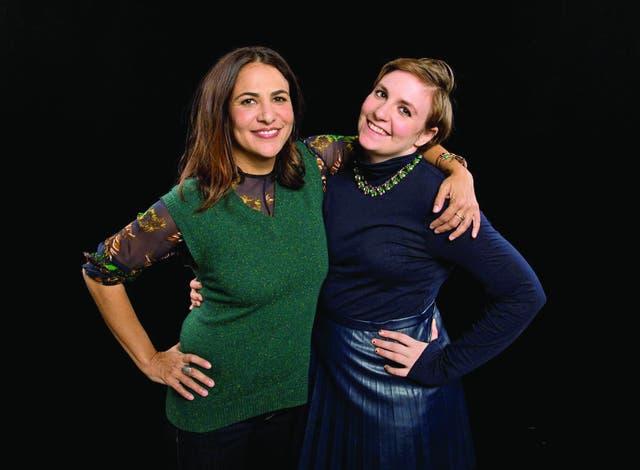"Jenni Konner y Lena Dunham. ""Soy muy malcriada porque tengo jefes que me respetan"", dice Dunham, una de las dos cabezas de Girls"
