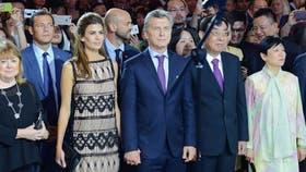 Macri y Awada, en China