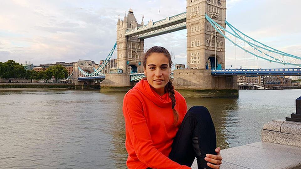 Belén Casetta, la atleta argentina finalista en Londres 2017
