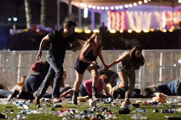 A principios de octubre, un hombre abrió fuego contra los asistentes a un festival de música country, en Las Vegas