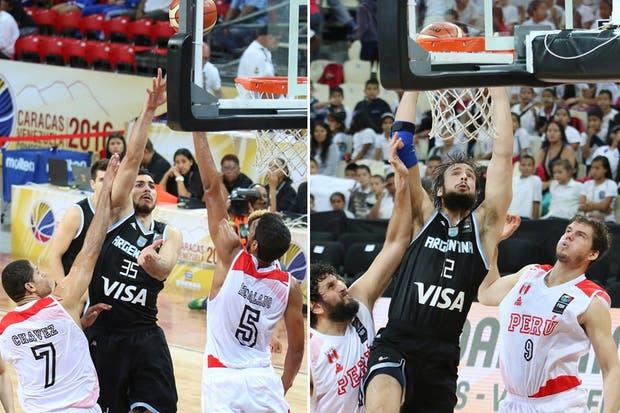 Roberto Acuña y Marcos Delía, dos jugadores que quieren llegar a los Juegos Olímpicos
