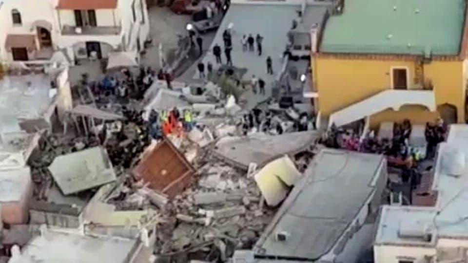 Una vista de una de las zonas más afectadas por el terremoto. Foto: AP