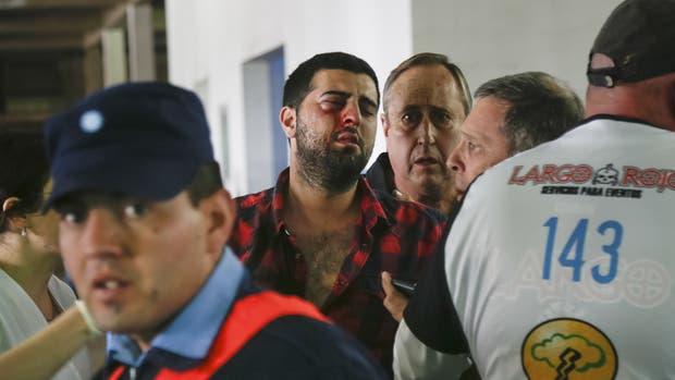 Un allegado a Belgrano fue herido en un ojo por un proyectil policial antes del clásico cordobés del último sábado