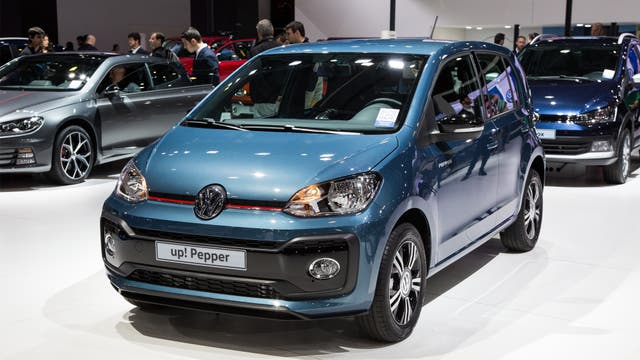 Vw UP Pepper.