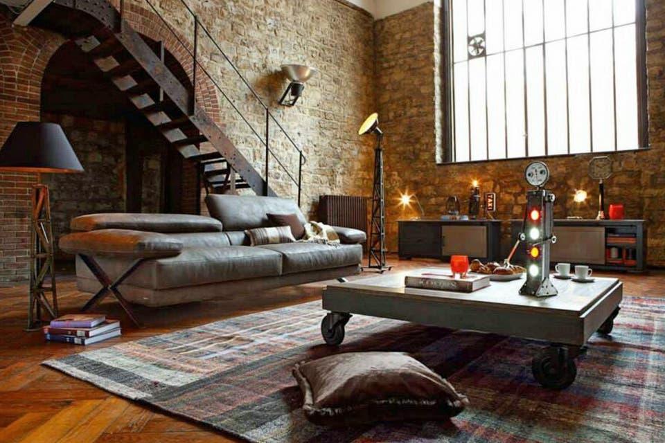 Claves para lograr un estilo industrial en tu casa
