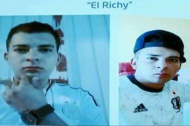 Veracruz's authorities presented Richy's alleged assassination of Valeria Cruz Medel,