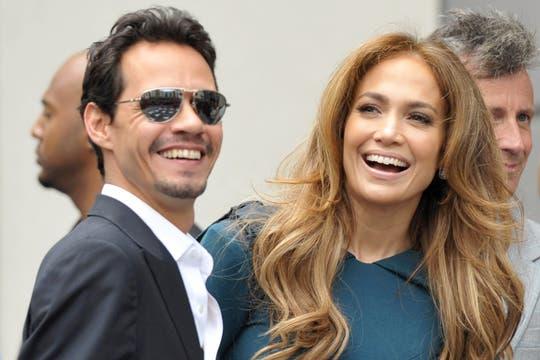 Marc anthony Jennifer López. Foto: Archivo