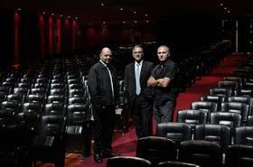 Rottemberg (Multiteatro), Bruchou (Citi) y Kompel (La Plaza)