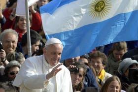 Nuevamente, apoyo argentino al Papa durante su audiencia