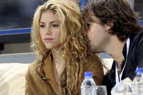 Shakira y Antonito, en tiempos mejores
