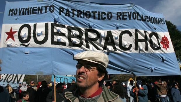 Fernando Esteche, líder de Quebracho
