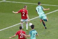 Mirá el golazo de Cristiano Ronaldo de taco en Portugal-Hungría por la Eurocopa 2016