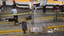 Escenas de pánico tras el atentado en Turquía