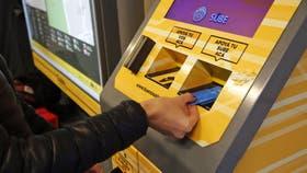 Las cargas virtuales deberán acreditarse en las terminales automáticas SUBE