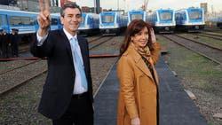 El ex ministro del Interior Florencio Randazzo y la ex presidenta Cristina Kirchner se reunieron a horas del cierre de listas