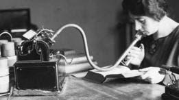 Tener un dictáfono fue, en su tiempo, un símbolo de poder ejecutivo.