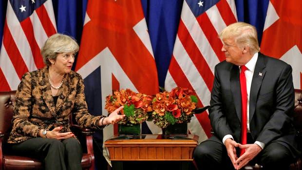 Causa polémica la cancelación de la visita de Trump a Reino Unido