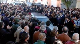 Una multitud despidió a Fontanarrosa