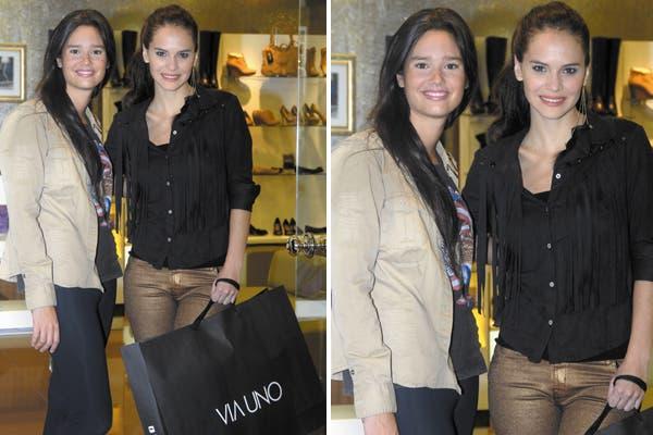 Luz Cipriota y Manuela Viale disfrutaron de la presentación de la nueva colección Otoño Invierno Via Uno. Foto: Gentileza Fly Comunicación