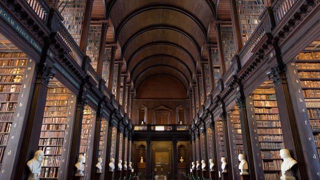 La biblioteca más linda de Dublín