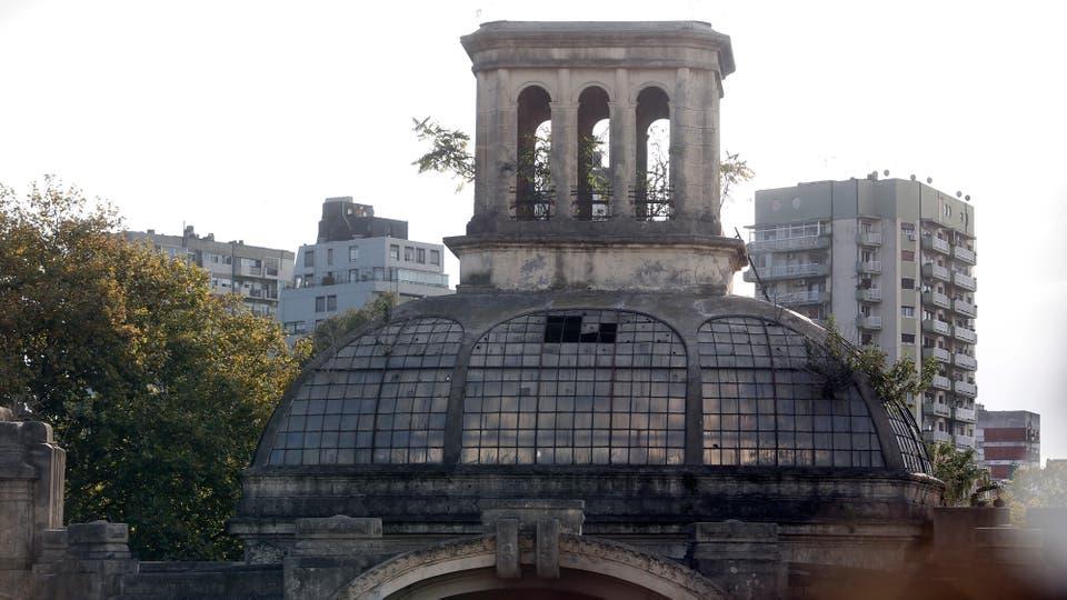 Es un predio estatal que pronto saldrá a la venta; reclaman que sea conservado y restaurado para actividades culturales. Foto: LA NACION / Marcelo Gómez