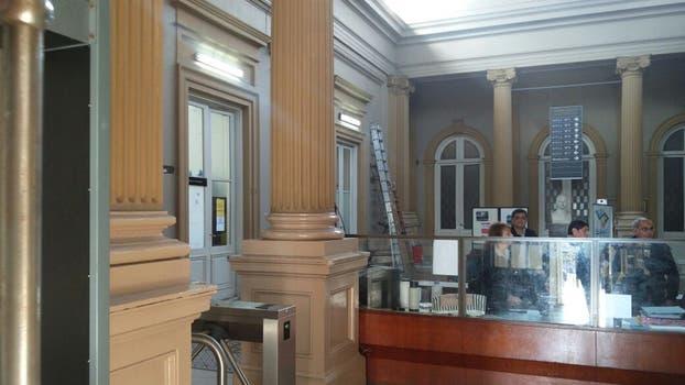 Así están los tribunales de La Plata donde está el despacho del fiscal Cartasegna. Foto: LA NACION / Jerónimo Mura LN+