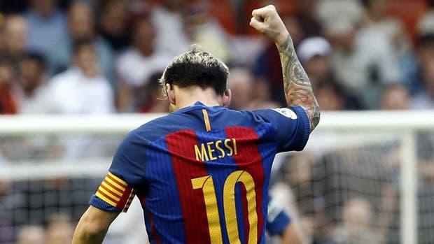 Desde que volvió de la lesión, Messi hizo seis goles en tres partidos