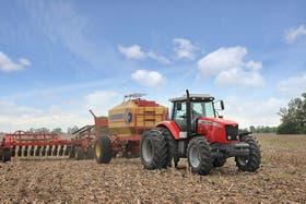 La venta de tractores tuvo una fuerte suba en julio pasado
