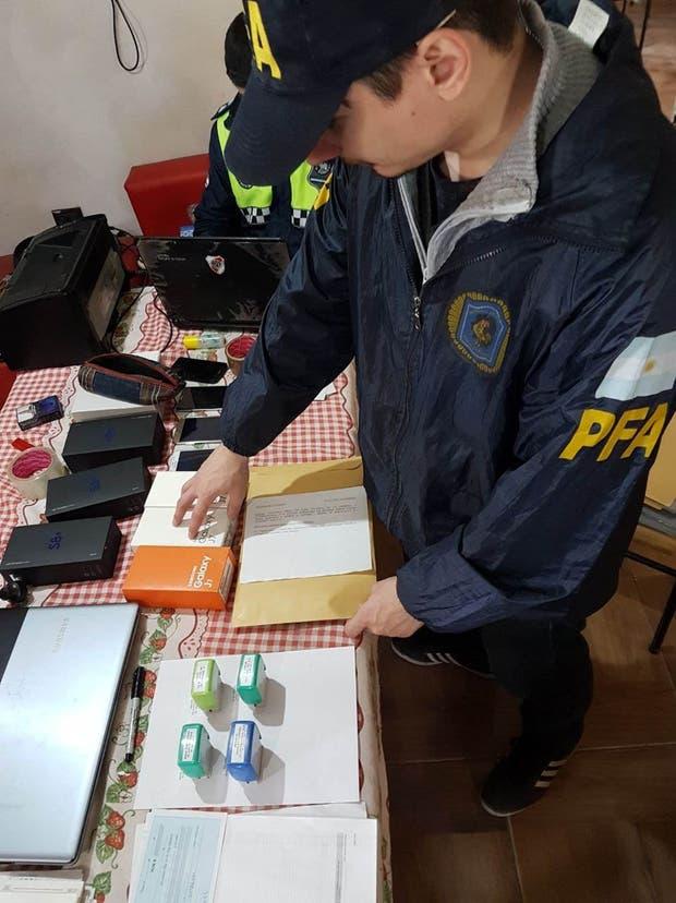Encontraron evidencias de la estafa en Tucumán