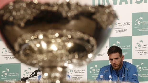 Adiós: Del Potro no volverá a jugar la Copa Davis