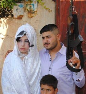 Una boda en Al-Qusayr