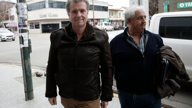 Los secretarios Gerardo Milman y Gonzalo Cané, enviados del gobierno en Esquel