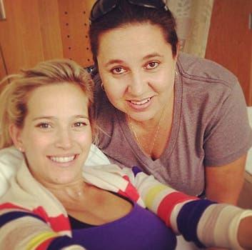 Hace unos días, Luisana recibía consejos para apurar el parto. Foto: Instagram