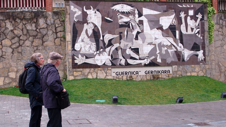 Guernica: se cumplen 80 años de la matanza que inspiró a Picasso. Foto: AFP / Ander Gillenea