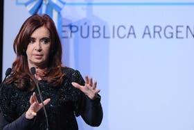 La presidenta Cristina Kirchner anunció el Decreto Presidencial a través de Cadena Nacional