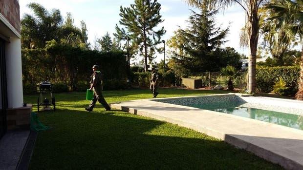 Gendarmería allanó la semana pasada la residencia de Tomeo en el country Abril