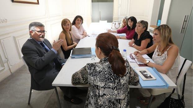 Cristina recibió ayer a los senadores de su bloque