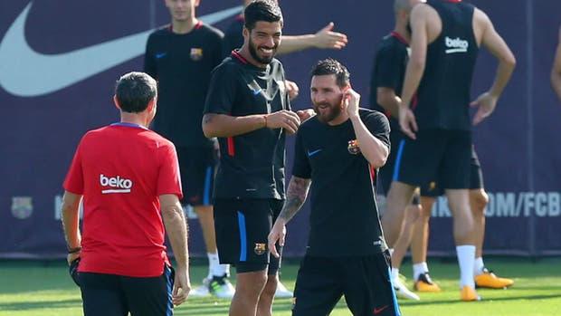 El encuentro de Messi con su nuevo DT