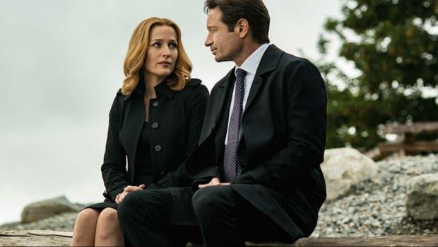 Una de las escenas del último capítulo del regreso, en 2016, de Los X Files