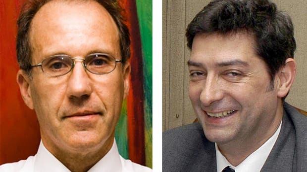Carlos Rosenkrantz (derecha) y Horacio Rosatti (izquierda)