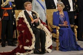 El rey Guillermo Alejandro de Holanda le dedicó unas palabras a su esposa, la reina consorte, Máxima
